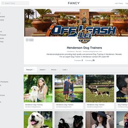 Henderson Dog Trainers Profile on Fancy