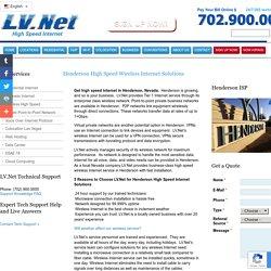 Lv.Net - High Speed Internet Services Provider