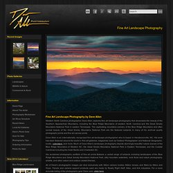 Fine Art Photography in Western North Carolina