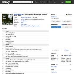 Jimi Hendrix - Jimi Hendrix & Friends: Jammin´ With Jimi (CD, Album) at Discogs