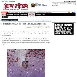 Jimi Hendrix: Art by Jean Giraud, aka Moebius
