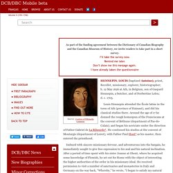 HENNEPIN, LOUIS – Volume II (1701-1740)