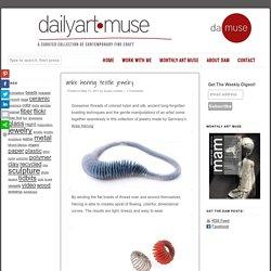 anke hennig: textile jewelry