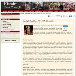 Henri VIII d'Angleterre (1491-1547)