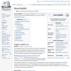 Henri Batiffol
