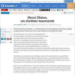 Henri Ghéon, un chrétien tourmenté