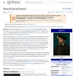 Henri II (roi de France)