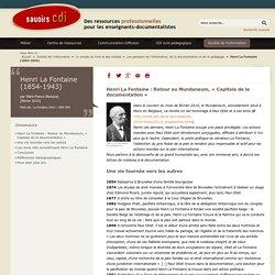 Henri La Fontaine (1854-1943)