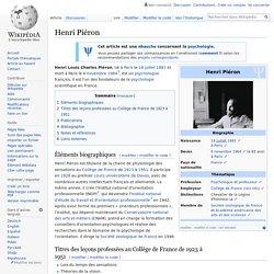 Henri Piéron