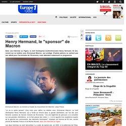 "Henry Hermand, le ""sponsor"" de Macron"