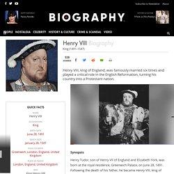Henry VIII - King