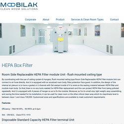 HEPA Box Filter - Mobilak