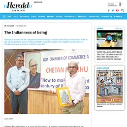Herald: The Indianness of being