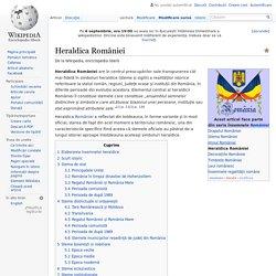 Heraldica României
