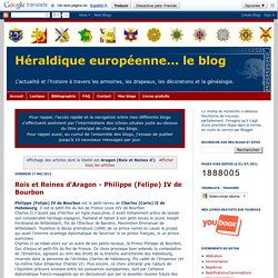 ROIS et REINES d' ARAGON - (Héraldique européenne... le blog)