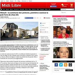 Hérault : la commune de Lavérune, première à exclure la pub hors de chez elle