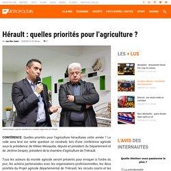 Hérault : quelles priorités pour l'agriculture ?