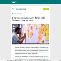 5 Herausforderungen, mit denen agile Teams zu kämpfen haben