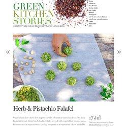Herb & Pistachio Falafel