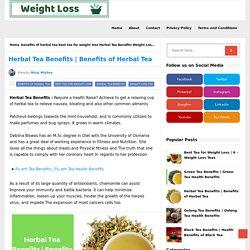 Benefits of Herbal Tea - Weight loss