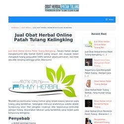 Jual Obat Herbal Online Patah Tulang Kelingking