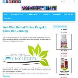 Jual Obat Herbal Online Penyakit Asma Dan Jantung