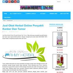 Jual Obat Herbal Online Penyakit Kanker Dan Tumor