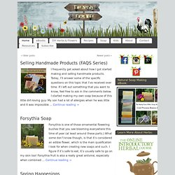 The Nerdy Farm Wife Page 2 of 17 DIY Herbal Crafts and Recipes, Honey Candy, Soap Making, Homeschool
