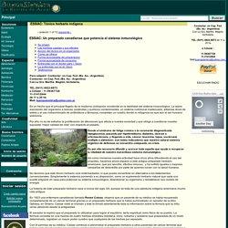 ESSIAC: Tónico herbario indigena