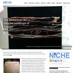 The Herbarium: An Interior Landscape of Science
