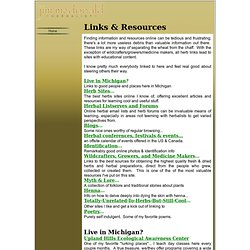 Links & Resources...