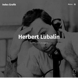 CRÉA: Herbert Lubalin – Index Grafik -F