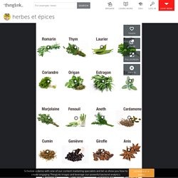 herbes et épices