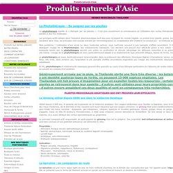 HERBES MEDICINALES THAILANDE & ASIE