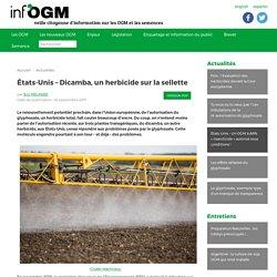 États-Unis – Dicamba, un herbicide sur la sellette - Inf'OGM - Veille citoyenne sur les OGM
