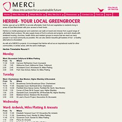 Herbie - Your Local Greengrocer