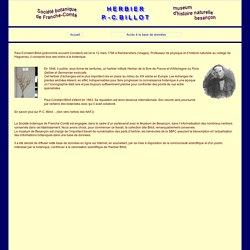 Herbier Billot - Accueil