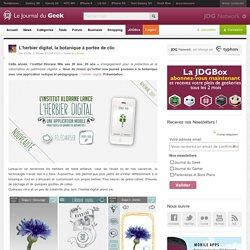 L'herbier digital, la botanique à portée de clic