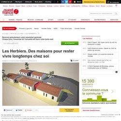 Les Herbiers. Des maisons pour rester vivre longtemps chez soi - 01/12/16