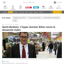 Saint-Herblain. L'hyper Auchan Sillon ouvre le dimanche matin