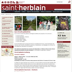 Site officiel de la mairie de Saint-Herblain : Les circuits pédestres