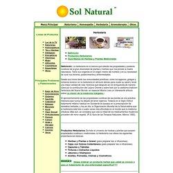 Sol Natural - Herbolaria - Tes - Tiendas Naturistas - Remedios Naturales - Tes medicinales - Plantas Medicinales - Hierbas Medicinales - Remedios Naturistas - Herbolaria Mexicana