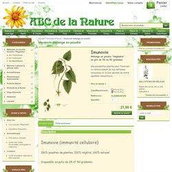Imunovie mélange en poudre, herboristerie, phytothérapie..