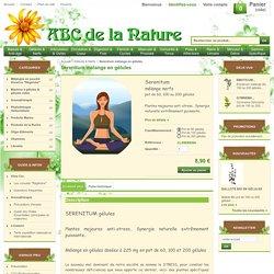 Serenitum mélange en gélules, herboristerie, phytothérapie..