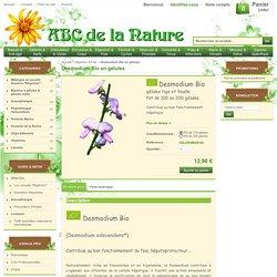 Desmodium Bio en gélules, herboristerie, phytothérapie..
