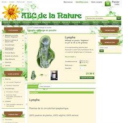 ABC de la Nature : Lymphe mélange en poudre, herboristerie, phytothérapie..