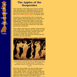 Hercules' Eleventh Labor: the Apples of the Hesperides