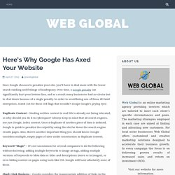 Here's Why Google Has Axed Your Website