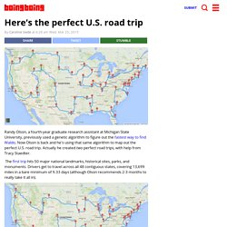 Here's the perfect U.S. road trip