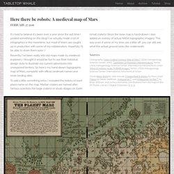 skeuomorphic map of mars